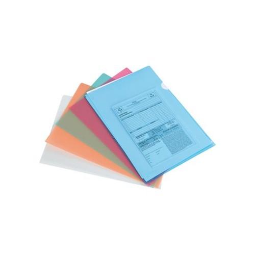 Chemise Coin Plastique Transparente personnalisée Porte documents en plastique