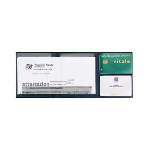 Porte carte vitale personnalisé Porte documents