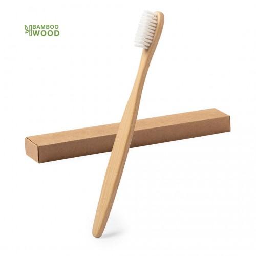 Brosse à dent bambou personnalisée Goodies dentiste