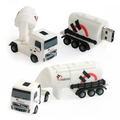 Clé usb camion personnalisée Clés usb publicitaires