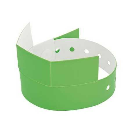 Bracelet avec coupon détachable Bracelet publicitaire