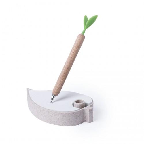 Porte Notes écologique personnalisée Bloc-notes avec stylo