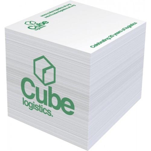 Bloc cube Mémo Big carré 5 cm Bloc Cube Papier