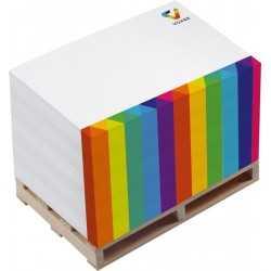 Bloc note palette publicitaire SMALL B Bloc Cube Papier