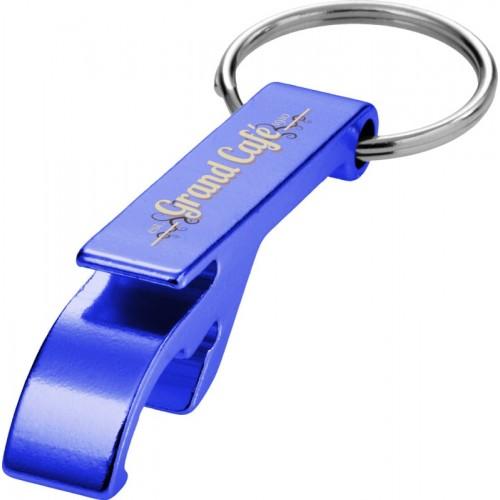 Porte-clés ouvre-bouteille et canette Décapsuleur publicitaire