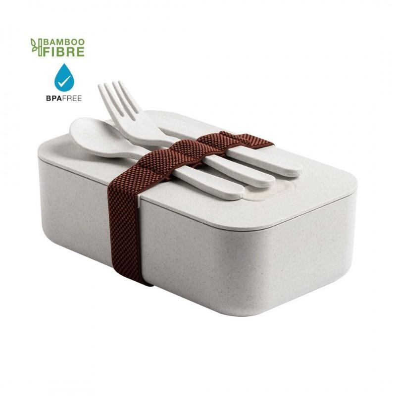 Lunch Box avec Couverts Gamelle publicitaire
