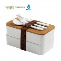 Lunch Box 2 compartiments Gamelle publicitaire