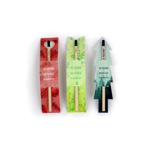 Crayon à planter personnalisé Crayons publicitaires