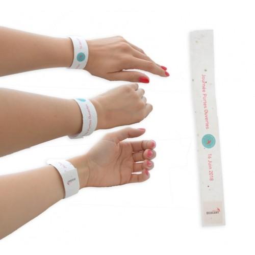 Bracelet événementiel écologique Bracelet publicitaire