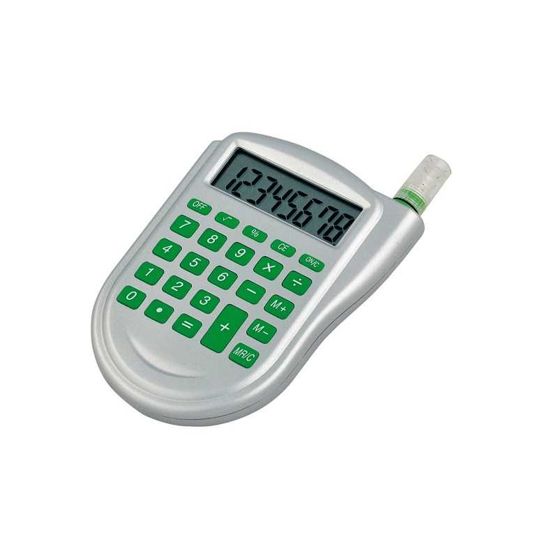Calculatrice publicitaire water Calculatrice