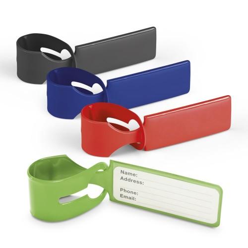 étiquette identification bagages Etiquette bagage publicitaire