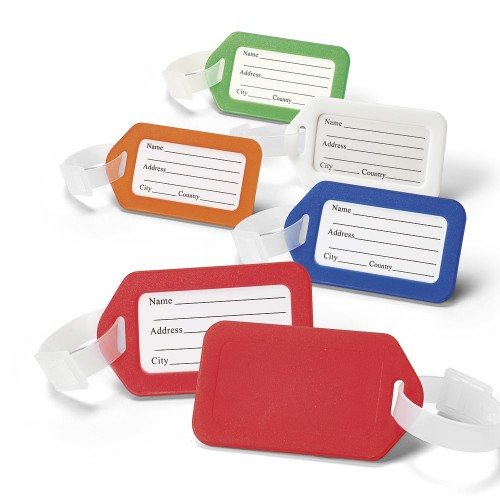 Étiquettes de Valise Bagage Etiquette bagage publicitaire