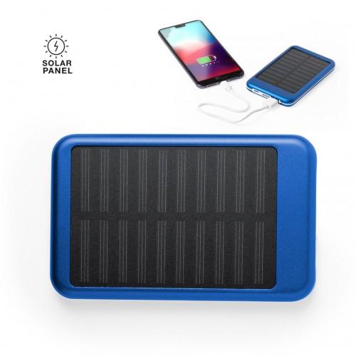 Chargeur solaire personnalisable Powerbank publicitaire