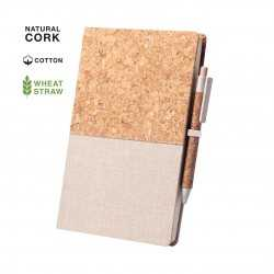 Bloc-Notes Vintage en Coton Bloc-notes avec stylo