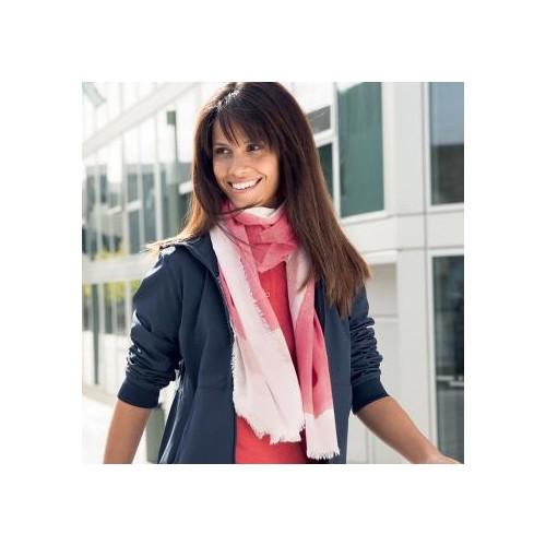 Écharpe coton BIO femme Foulard personnalisé