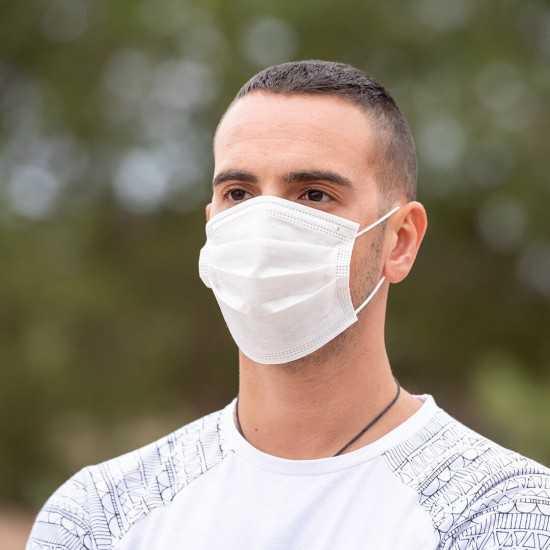 Masque hygienique jetable OBJETS PUBLICITAIRES