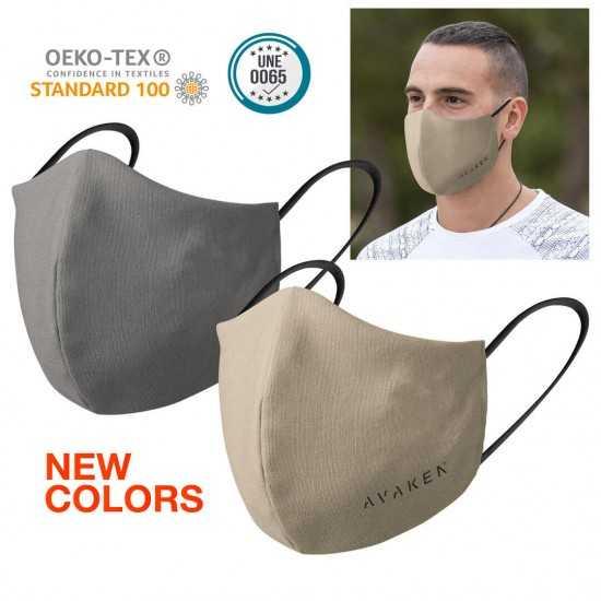 Masque tissu noir personnalisé OBJETS PUBLICITAIRES