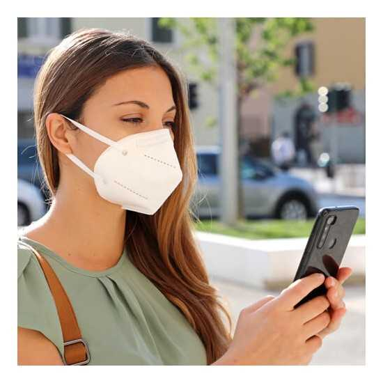 Masque Auto-Filtrante FFP2 Blanc Tensil Masque jetable