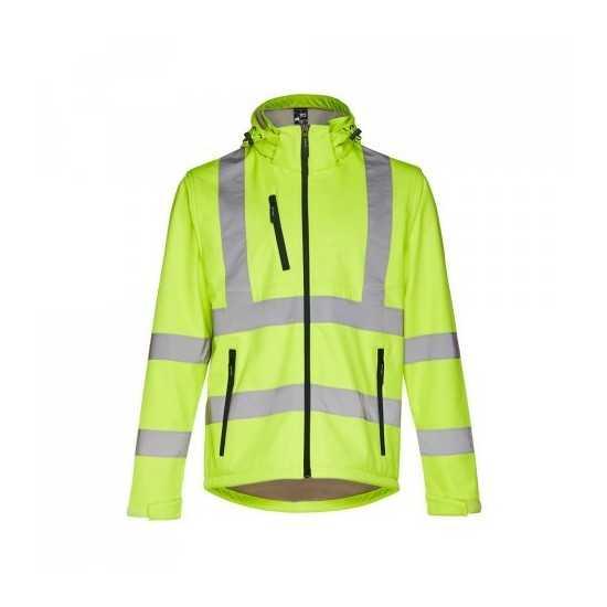 Veste de travail homme reflechissante jaune personnalisé ZAGREB Vêtement de travail homme