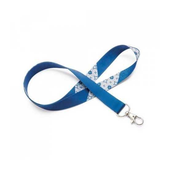 Lanyard SUBLIMATION Slim Duo (75034) Lanyard publicitaire