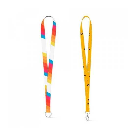 Lanyard SUBLIMATION Slim Lanyard publicitaire
