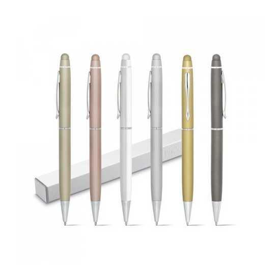 Stylo métal pointe tactile JULIE Stylo métal personnalisé
