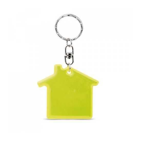Porte-clés Fluorescent Maison RESIDENCE Porte Clé Lumineux personnalisé