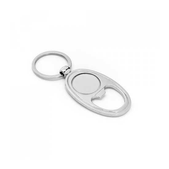 Porte-clés décapsuleur Doming BLAKE Porte Décapsuleur personnaliable