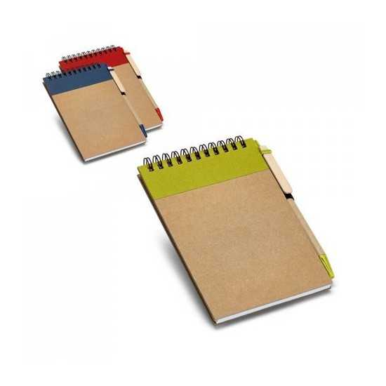 Bloc-notes de poche RINGORD Bloc-notes avec stylo