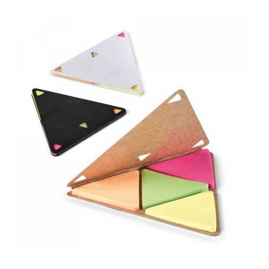 Porte post it Triangle FAULKNER Bloc Post it