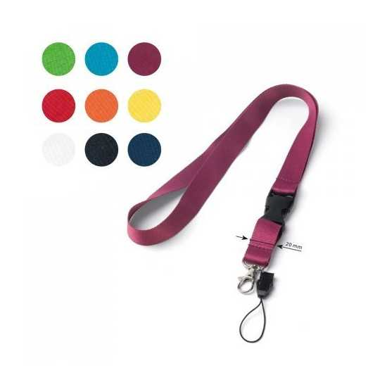 Lanyard polyester ANQUETIL Lanyard publicitaire