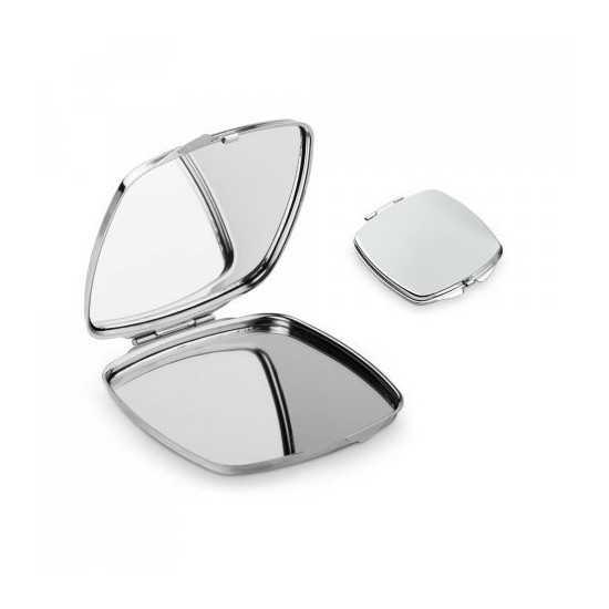 Double miroir de poche personnalisé COSMETIQUE
