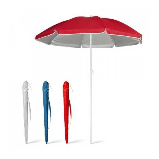Parasol doublure argentée PARANA Parasol publicitaire