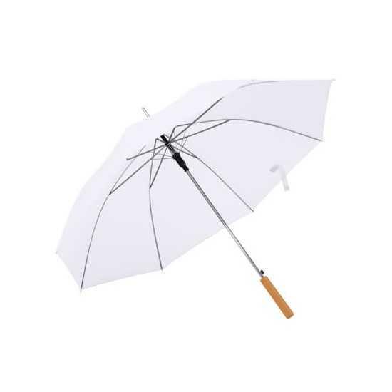 Parapluie nylon poignée bois Parapluie publicitaire