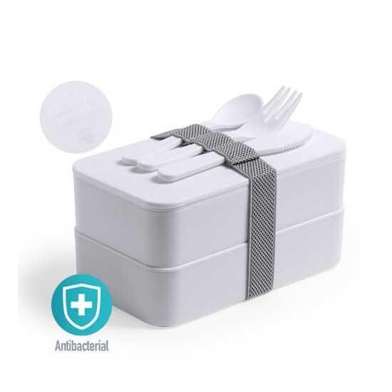 Lunch box antibactérienne Gamelle publicitaire