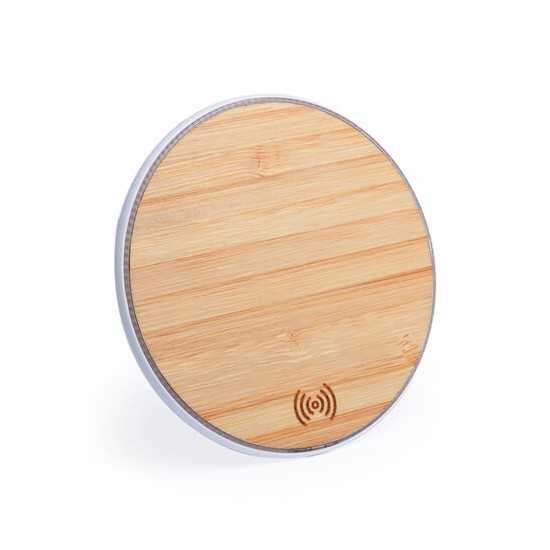 Chargeur sans fil en bambou HIGH TECH