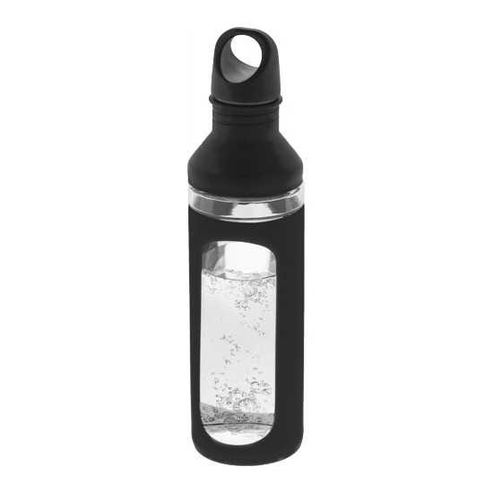 Bouteille verre protection silicone Gourde publicitaire