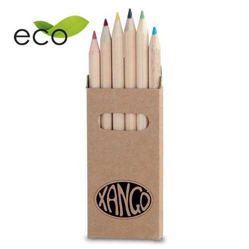 Boîte crayons publicitaire girls Crayons publicitaires