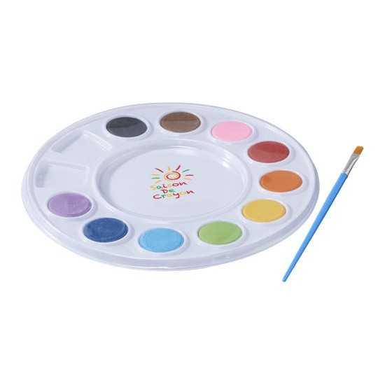 Kit peinture aquarelle Splash Kit coloriage personnalisé