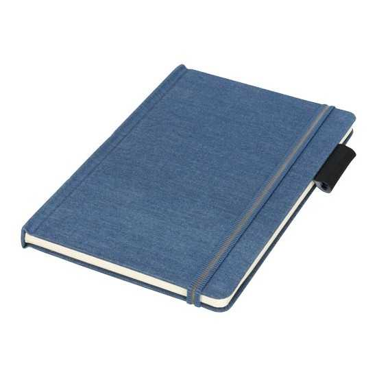 Carnet de notes A5 en tissu Jeans Bloc-notes avec stylo