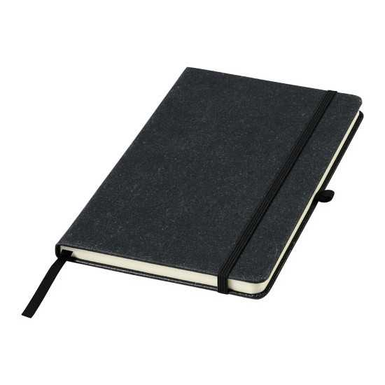Carnet de notes A5 en cuir Atlana Bloc-notes avec stylo