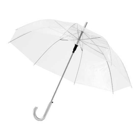 """Parapluie 23"""" transparent à ouverture automatique Kate Parapluie publicitaire"""