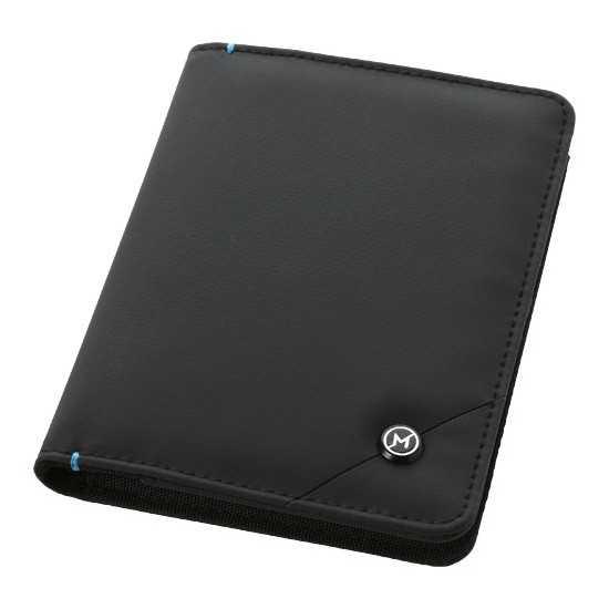 Pochette de passeport RFID Odyssey Protege passeport personnalisé
