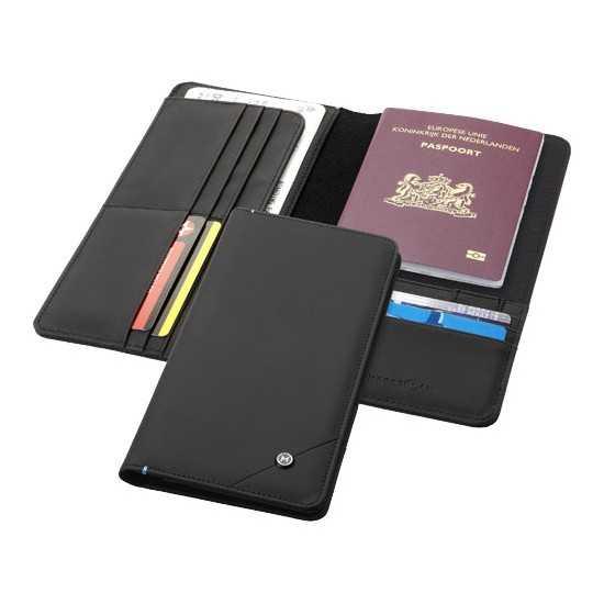 Portefeuille de voyage RFID Odyssey Protege passeport personnalisé