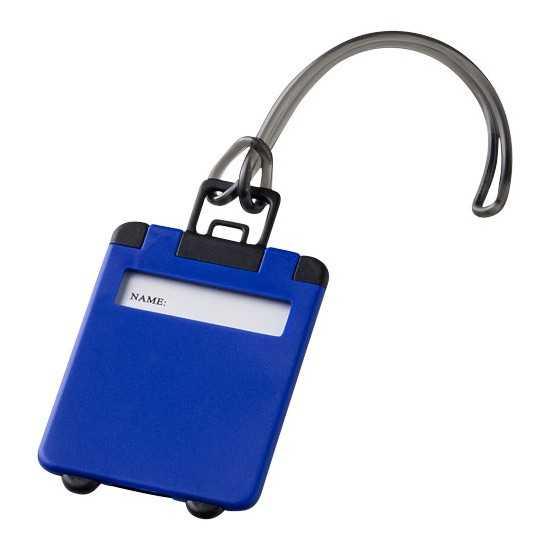 Étiquette à bagages Taggy Etiquette bagage publicitaire