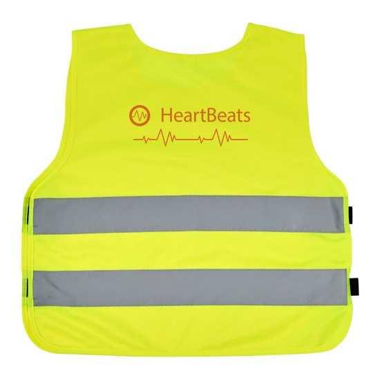 Gilet de sécurité velcro pour enfants 3-6 ans Odile Gilet de travail