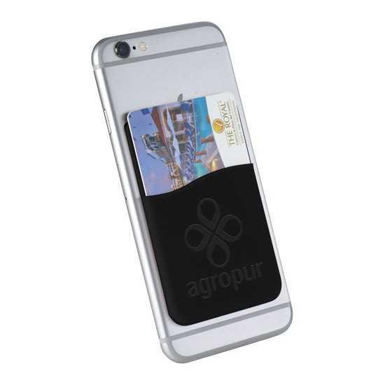 Porte-cartes en silicone pour smartphones Slim Porte cartes visite