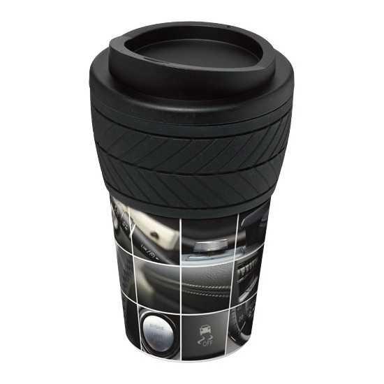 Gobelet isolant bandeau silicone IMPRESSION TOTALE Mug avec Couvercle personnalisé