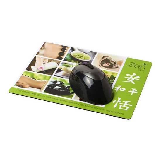 Tapis de souris Q-Mat® rectangulaire Tapis souris publicitaire
