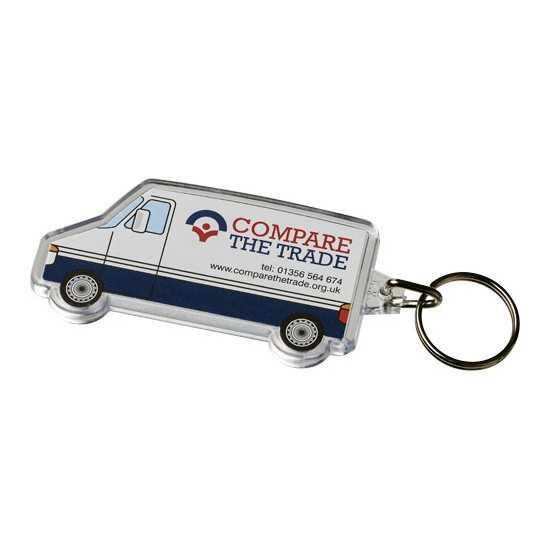 Porte-clés en forme de minibus van Combo Porte-clés publicitaires